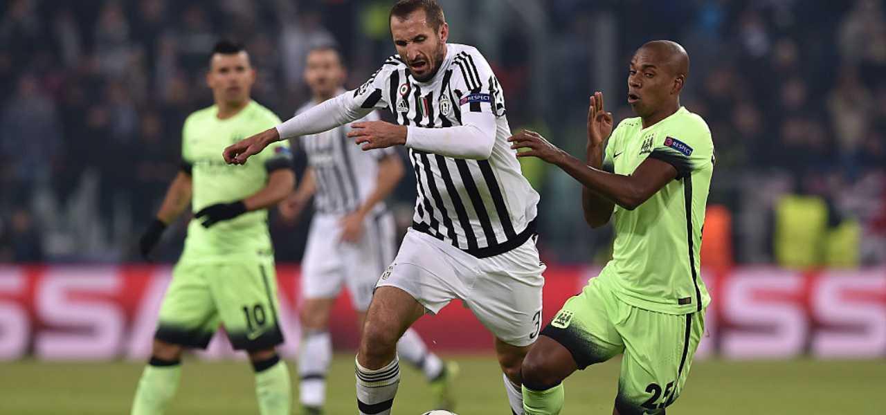 infortunio Chiellini Juventus