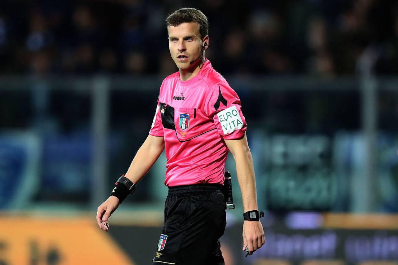La Penna arbitro Juventus Verona