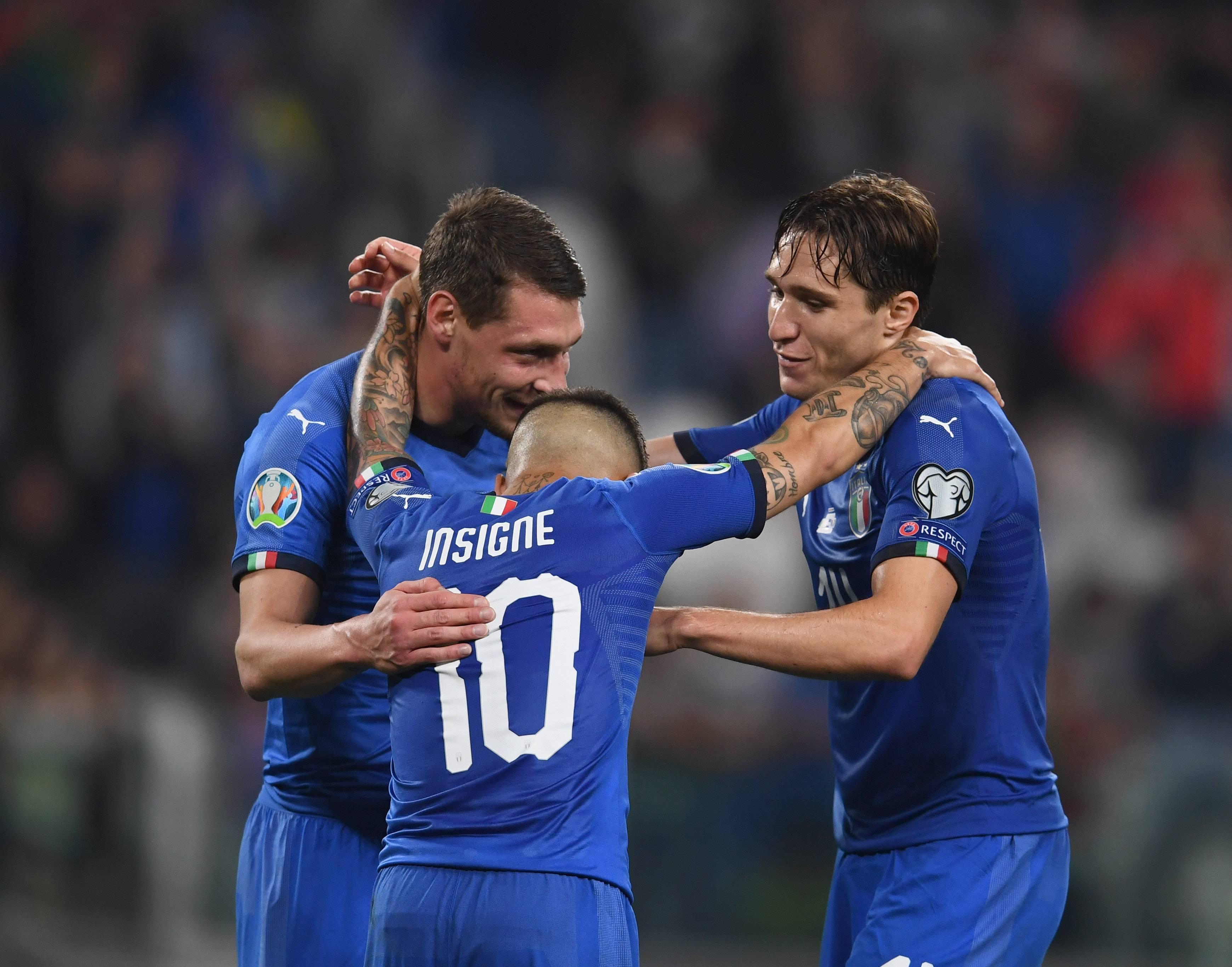 avversarie Italia Euro 2020