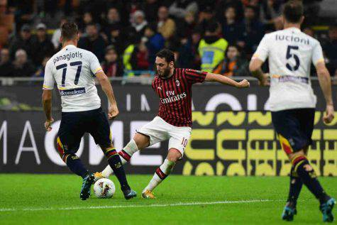 video milan lecce gol highlights
