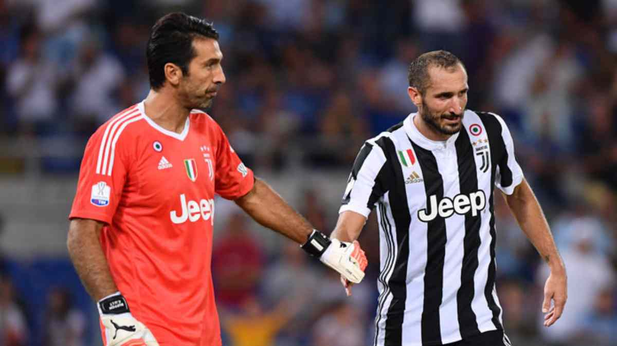 buffon e chiellini