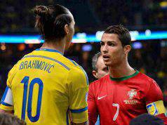 Ibrahimovic e Ronaldo