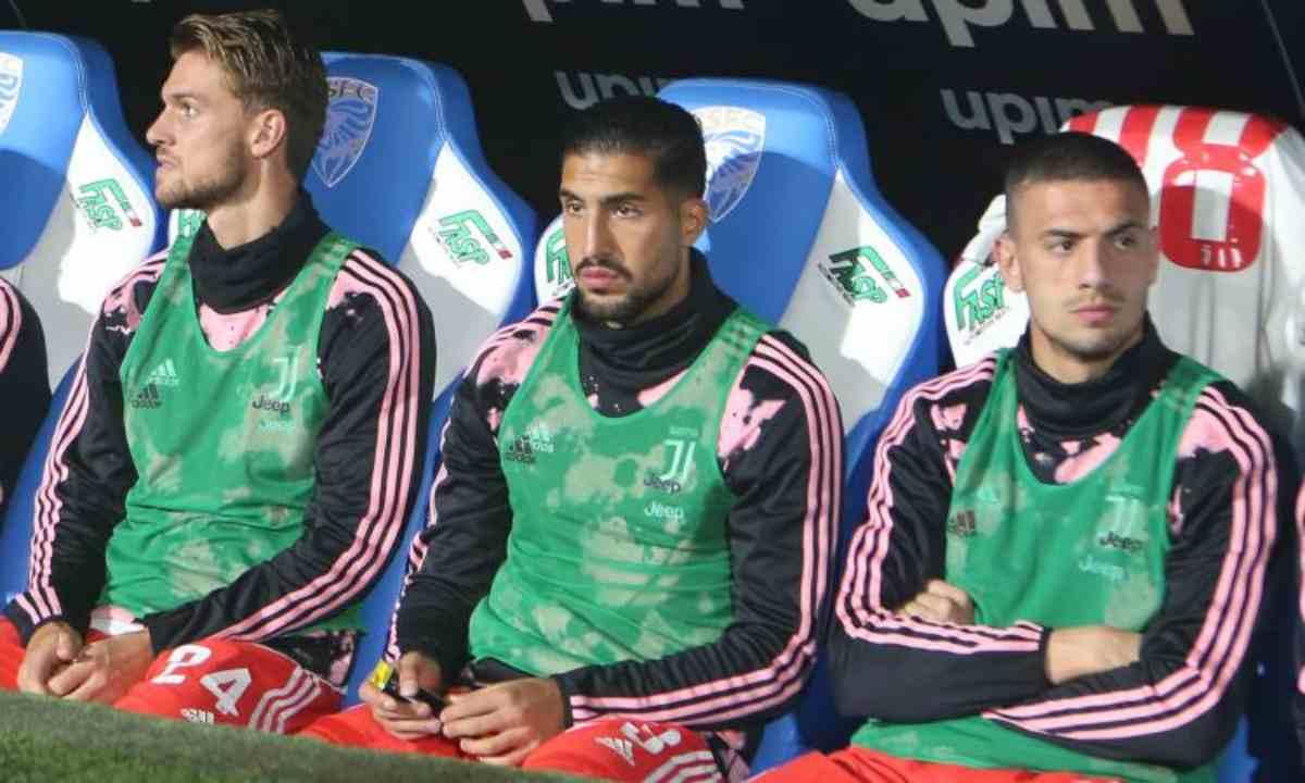 calciomercato juventus demiral rugani manchester united