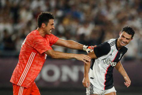 Cristiano Ronaldo e Buffon