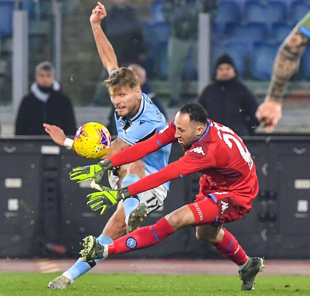 Ospina contro la Lazio
