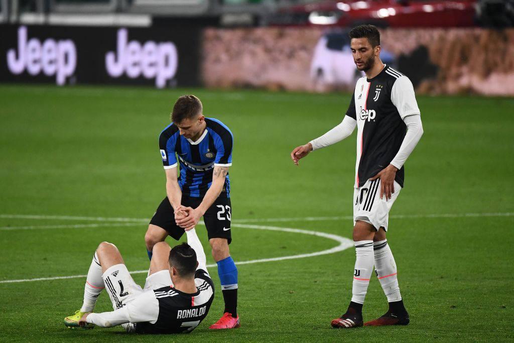 Cristiano Ronaldo ancora a terra
