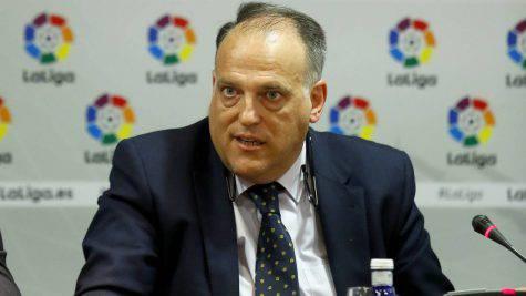 Il presidente della Liga Tebas