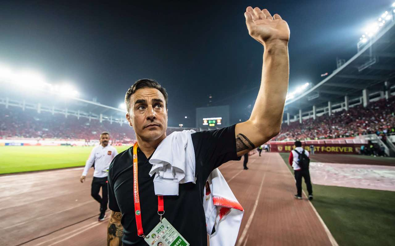 Fabio Cannavaro, capitano dell'Italia campione del mondo