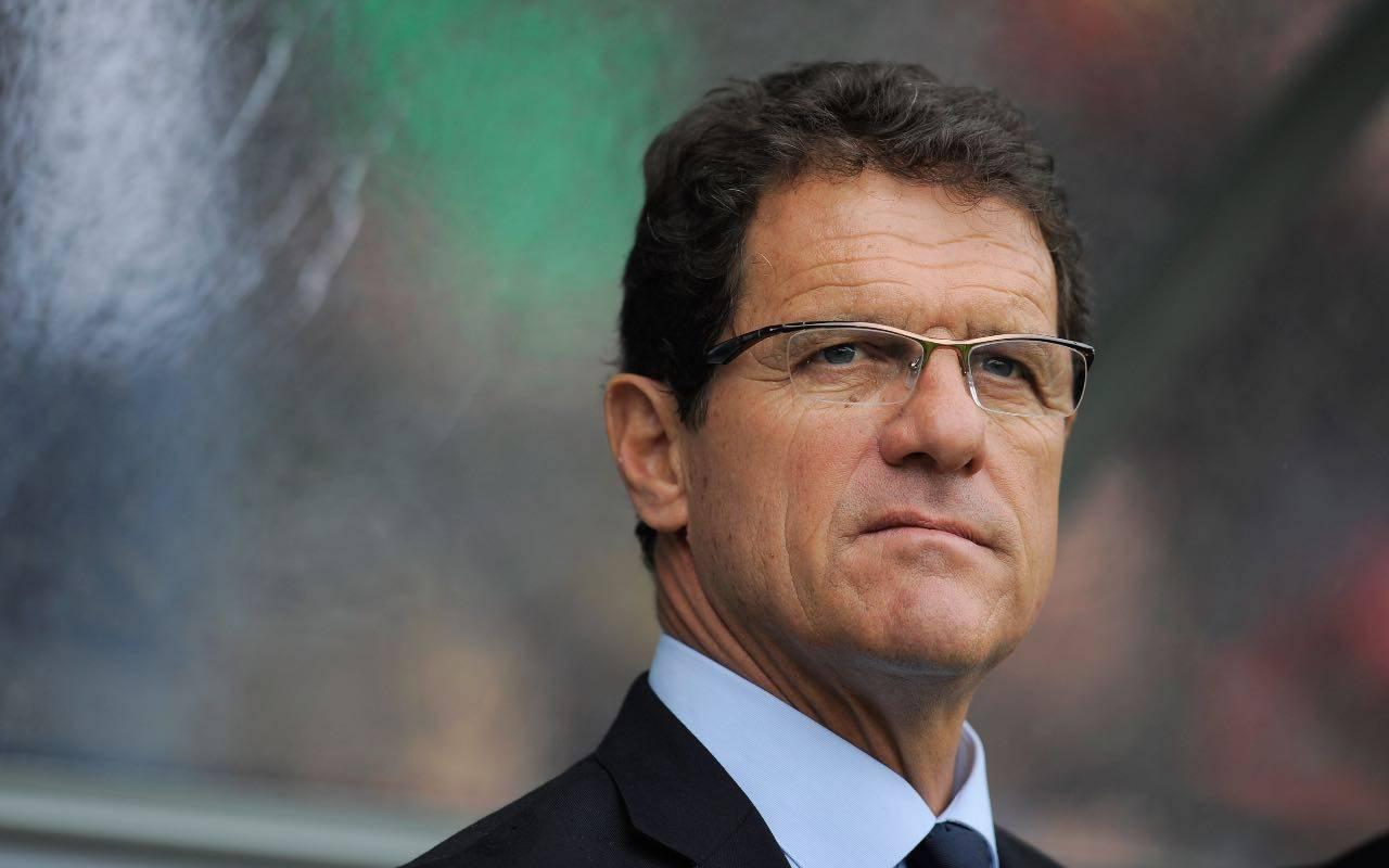 Fabio Capello, allenatore che ha vinto due scudetti con la Juventus