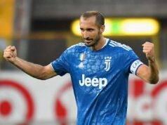 Il capitano della Juventus e della Nazionale, Giorgio Chiellini