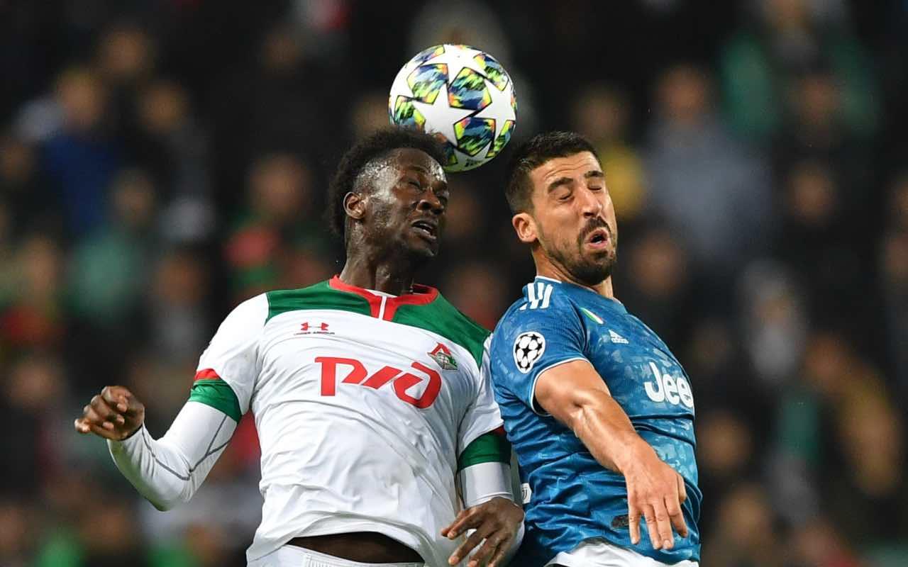 Khedira in azione durante un match di Champions