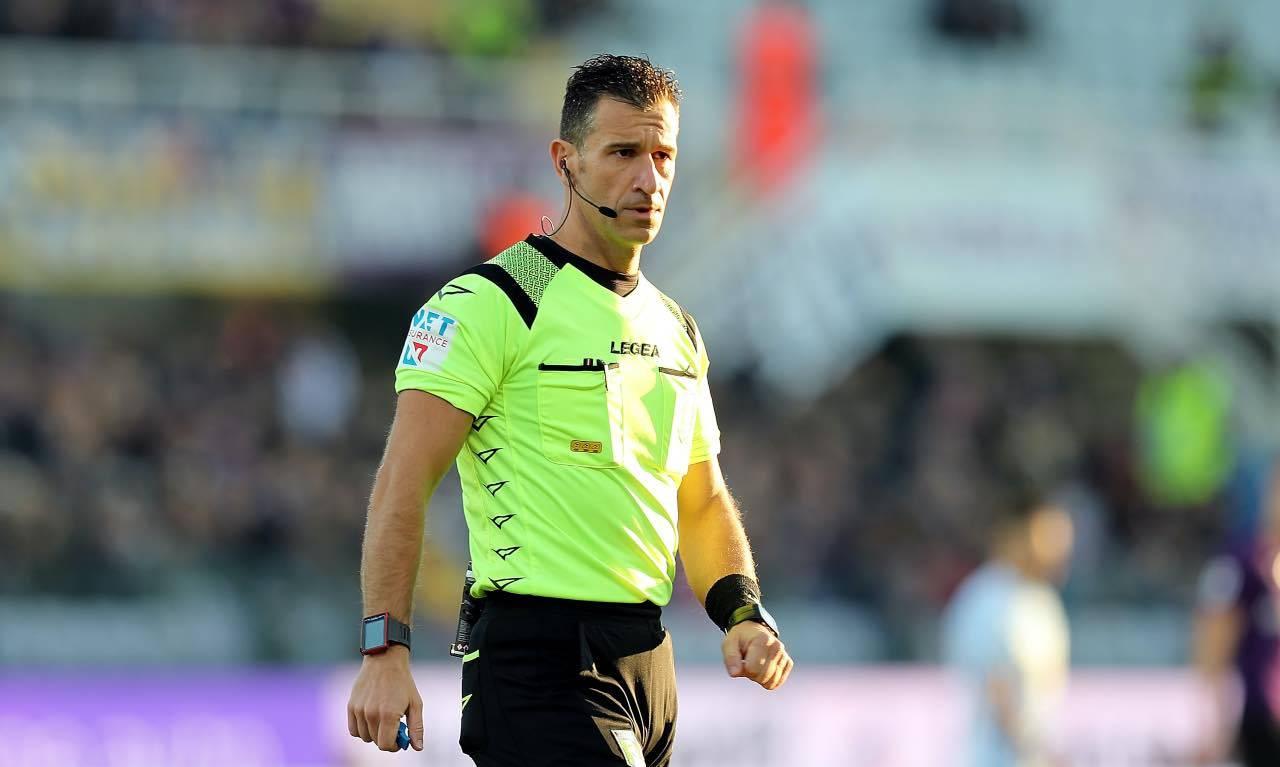 L'arbitro della finale di Coppa Italia, Doveri