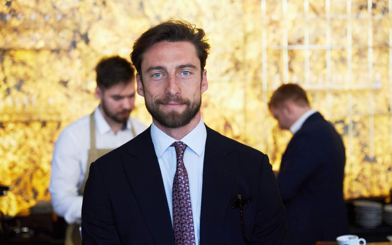 L'ex centrocampista della Juve, Claudio Marchisio