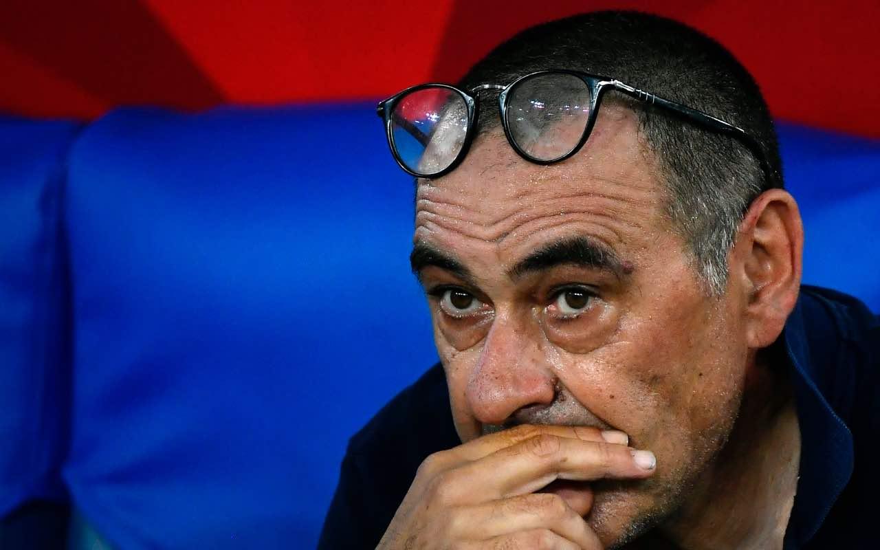 Maurizio Sarri ha perso due finali su due con la Juventus