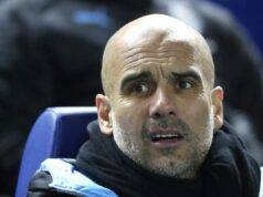 Pep Guardiola, allenatore del Man City