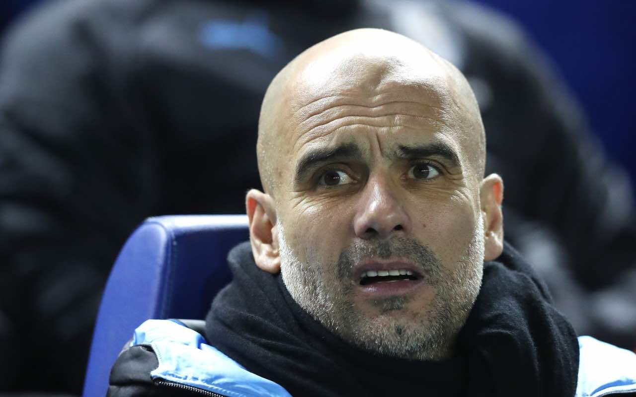 Pep Guardiola, allenatore del Man City