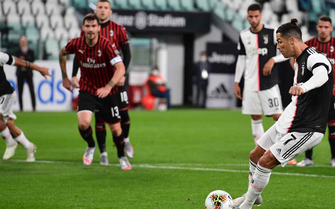 Highlights Juventus Milan Coppa Italia: video gol e sintesi